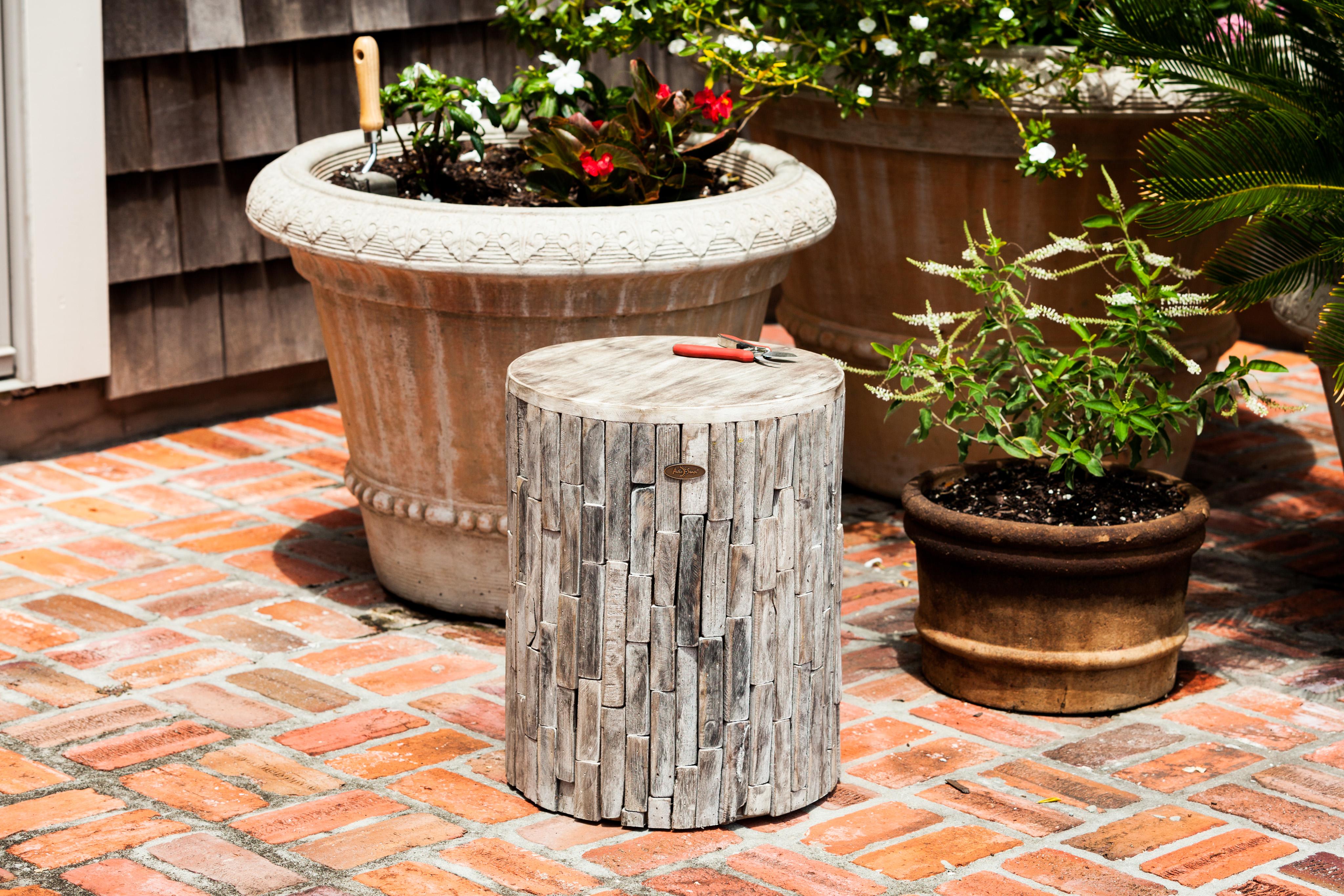 Elyse Round Garden Stool – Ace Patio Furniture